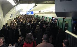 Metro 13 à Saint-Lazare
